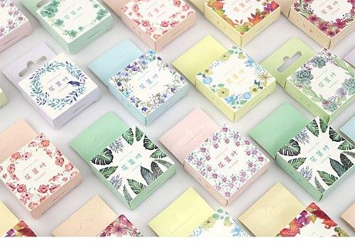 1.5cm Leaves flower washi tape masking tape DIY decoration Scrapbooking Sticker Label Tape School Office Supplies