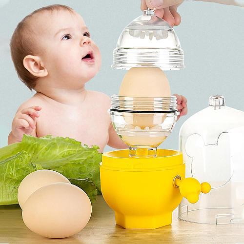 Eggs Yolk Mixing Whisk Inside Golden Egg Stiring Blend Maker Puller Kitchen Utensils Shaker Multi-cutter Household Slicer Gadget