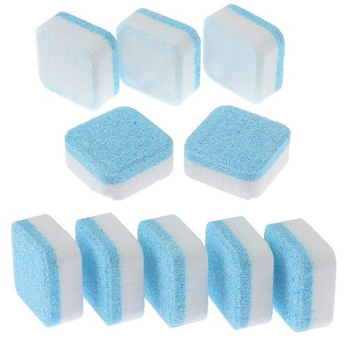 1/5 Pcs Washing Machine Cleaner Descaler Deep Cleaning Remover Deodorant Durable Multifunctional Laundry Supplies