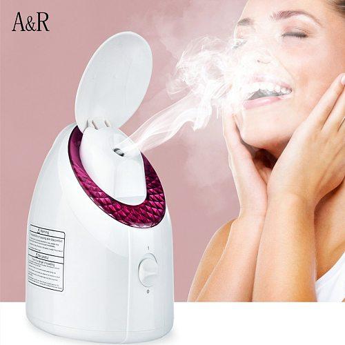 Nano Ionic Facial Steamer Deep Cleaning Face Sprayer Humidifier Unclogs Pores Reduce Blackheads Acne Face Steaming Device Facial
