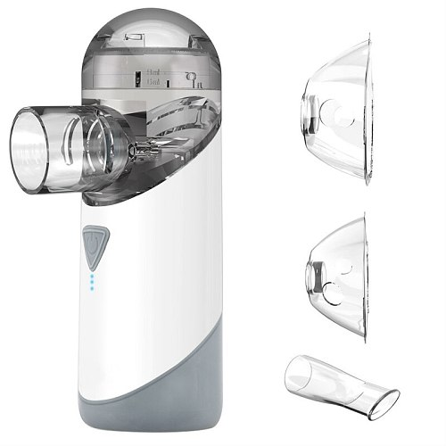 Hand Hold Asthma Nebulizer Atomizer Machine Portable Nebulizers Mesh Humidifier Nebulizador Steamer Adult Kids