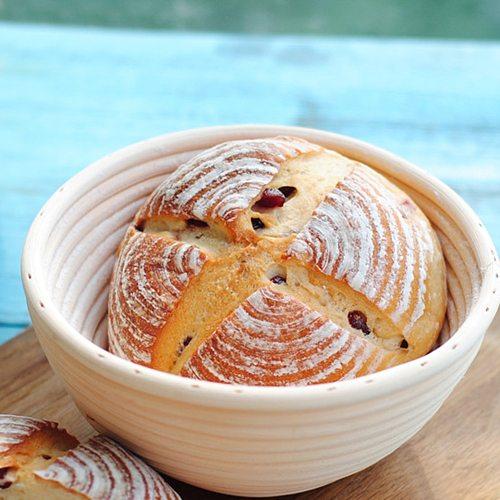 Hot Bread Fermentation Rattan Basket Country Bread Baguette Dough Mass Proofing Cookie Rattan Kitchen Organizer Basket
