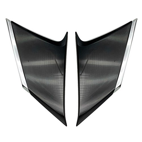 Car Accessories C Pillar Rear Window Quarter Cover Trim Garnish for Toyota Corolla Cross 2020 2021