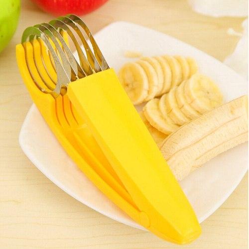 1pc Home Kitchen Tool Vegetable Peeler Salad Slice Banana Slicer Chopper Fruit Cutter Cucumber Multifunction Knife