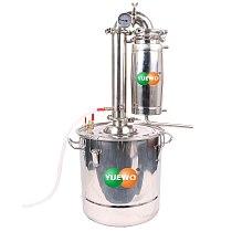 30L Liters 8 Gal Transformer Wine Maker Brew Alcohol Distiller Household Stainless Steel Moonshine Still