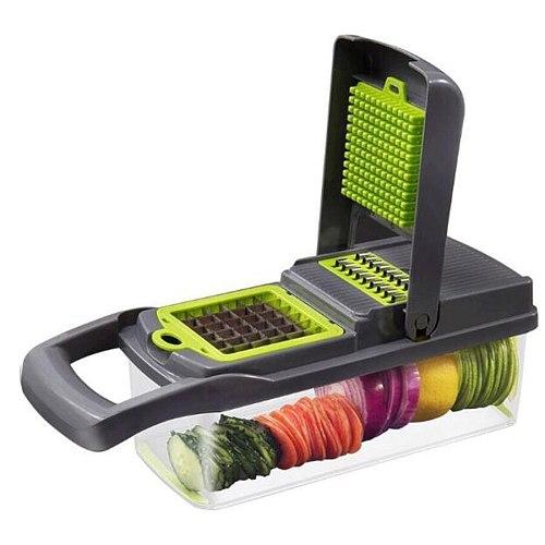 Vegetable Tool Chipper Shredder Garlic Meat Chopper Carrot Potato Slicer Salad Machine Kitchen Kitchen Accessories
