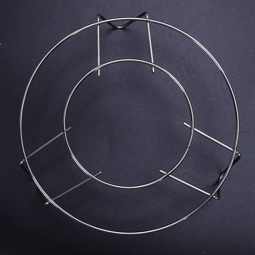 Housewife Kitchen Cooking Metal 3 Legs Steamer Rack Stand CNIM Hot