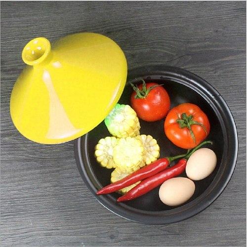 Taji baozaifan heat-resistant pot ceramic  health pot feeding tray + spatula