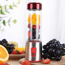 350ml Juicer Machine Personal Blender Handy Portable Chargeable Electric Juice Cup Multifunctional Juice Glass Mini Juice Maker