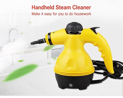 Multi Purpose Electric Steam Cleaner Portable Handheld Steamer Household Cleaner Attachments Kitchen Brush Tool