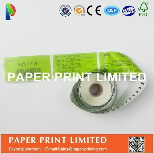 12 x Rolls Dymo Compatible Labels 99014 Green colors also supply Orange or pink or Green custom colors