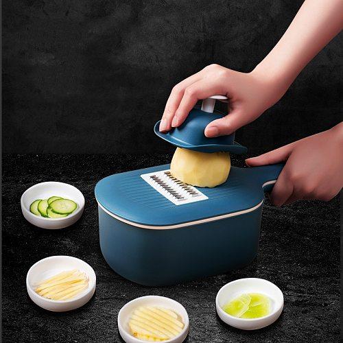 Kitchen Vegetable Chopper Cutter Gadgets Cooking Tools Food Fruit Grater Salad Maker Onion Potato Slicer Accessories