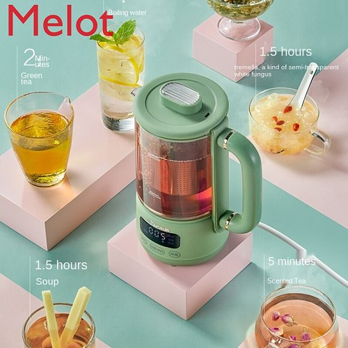 Health Pot Office Small Household Multi-Functional Mini Small Tea Cooker Thermal Insulation Constant Temperature Kettle Durable