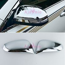 Door Mirror Overlay Cover Trim 2015 2016 2017 Garnish Protector Chrome Car Styling For Toyota Hilux Revo Accessories