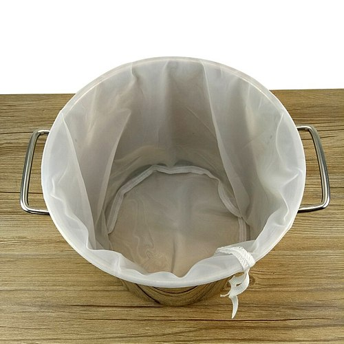 Beer Home Brew Brewing Filter Bag Brew Bag With Multi Size For All Grain Home Beer Brewer Malt Brewing, Boiled, Ground, Straine
