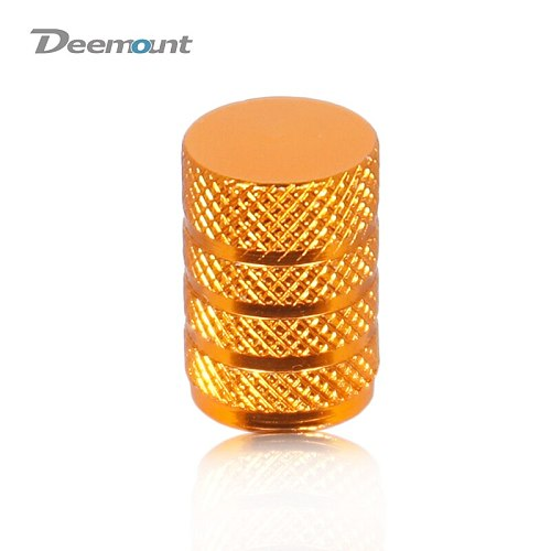 Bicycle 4PCS Schrader Valve Cap Anodized CNC Cylinder-shaped Tire Nozzle Adaptor A/V Lid Cover Cycle Valve Nut