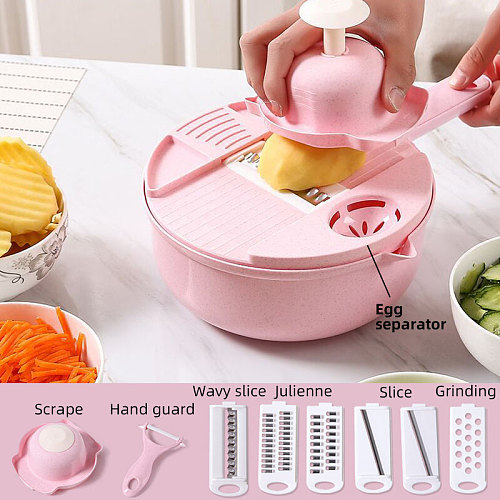 Vegetable cutter mandoline potato cutter multifuncional cooking accessories slicer grater cookie tools ralador chopper kitchen