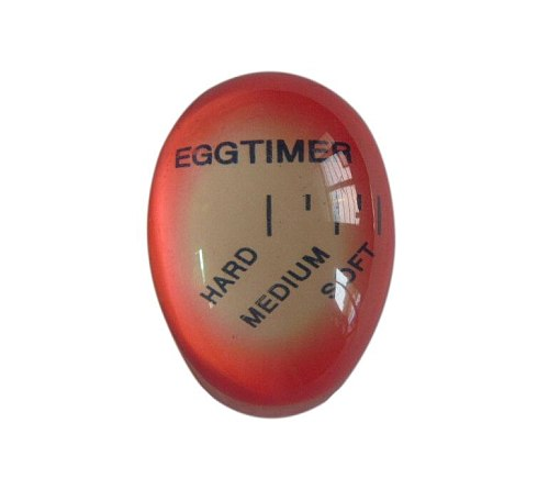 Kitchen Egg Timer Perfect Boiled Egg Indicator Soft-Boiled Display Egg Cooked Degree By Temperature Colour Changing Helper Timer