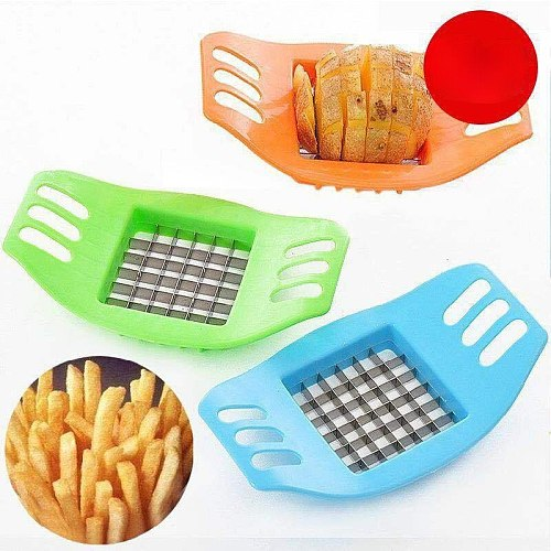Knife for Potatoes Peeler Fruits and Vegetables Slicer DIY French Fries Cutter Artifacts Mandoline Kitchen Tools Accessories