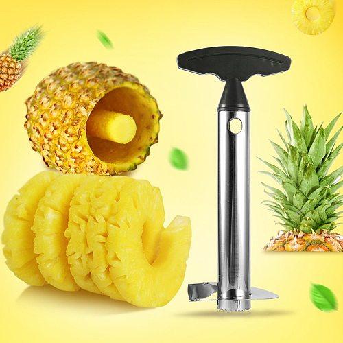 Stainless Steel Pineapple Peeler Cutter Slicer Corer Peel Core Tools Fruit Vegetable Knife Remover Blades Gadget Kitchen Tools