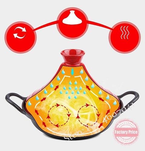 Steamer Taji pot cast iron pot clay pot rice cooker Japanese household simmered casserole induction cooker universal