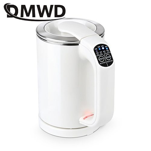 Travel Hot Water Thermal Heating Pot MINI Electric Kettle Noodles Cooker Boiling Cup Heater Stainless steel Teapot Eggs Boiler