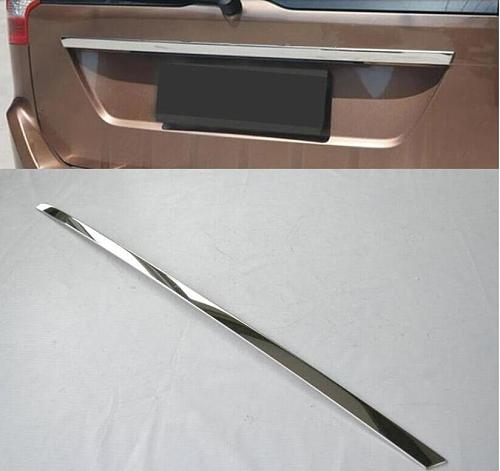 AX FOR VOLVO XC60 2009-2014 Molding Tailgate Door Handle Strip Accent Garnish Styling Chrome Rear Trunk Tail Gate Cover Trim