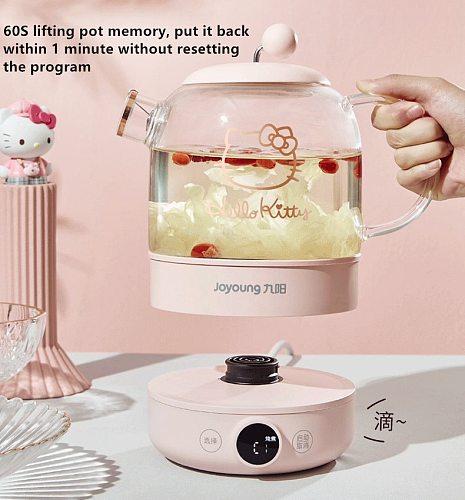 220V 0.8L Household Electric Kettle Health Preserving Pot Portable Multi Food Tea Dessert Cooker Water Boiling Machine