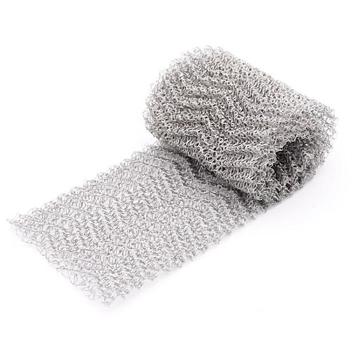 1Meter Stainless Steel Mesh Filter for distillation moonshine Column Packing Woven Wire Screen Filter 4 wires 10cm width