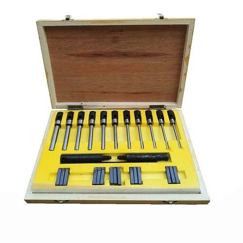22-63MM Single-Sided Valve Seat Reamer Repair Tool Carbide Valve Seat Reamer Valve Cutting Tool Y