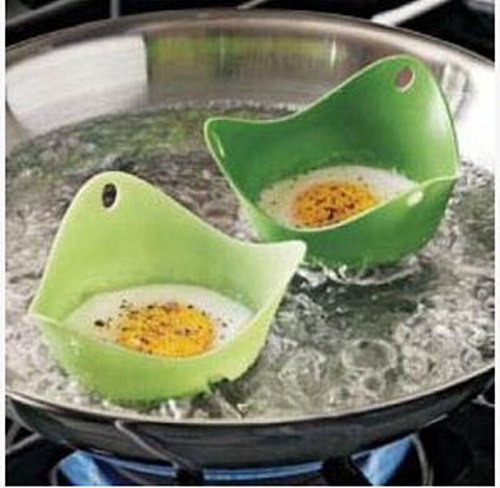 Silicone Egg Poacher Poaching Pods Egg Mold Container Bowl Rings Cooker Boiler Cooking Tools Pancake Maker  Kitchen Accessories
