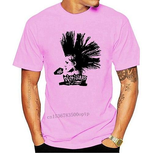 Mohawk The Distillers City Of Angels Punk Rock Music Vintage Retro T Shirt 650