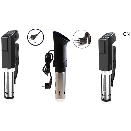 Sous Vide Cooker 1000W Precise Temperature Timer Stainless Steel Thermal Immersion Circulator Vacuum Food Cooker