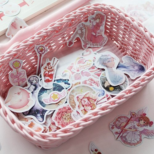 Cartoon Pink Panther Decoration Stickers Diary Label Paper Stickers Pack DIY Stickers school supplies escolar