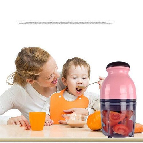 Capsule Cutter Food Processor Chopper Hand Blender Mini Multi-Function Baby Food Machine Household Electric Home Garden