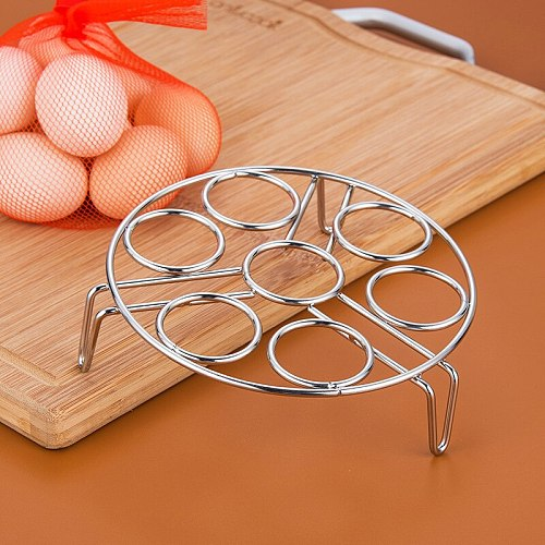 stainless steel egg stand kitchen steaming stand electric rice cooker pressure cooker stand high foot pot cushion egg steamer