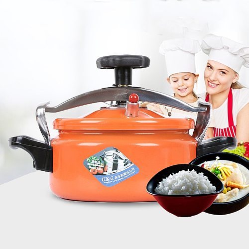 Outdoor Small Mini Household Gas Induction Cooker General Explosion-Proof Pressure Cooker 3.5L