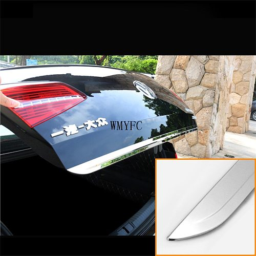 Rear Trunk Boot Tailgate Door Tail Gate Cover Trim Molding Lid Bezel Garnish Strip Styling for VW PASSAT B8 2017 2018 2019 2020