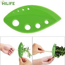 Rosemary Thyme Cabbage Kitchen Gadgets Vegetables Leaf Stripper Greens Herb Stripper Gadget Kale Lightweight Durable