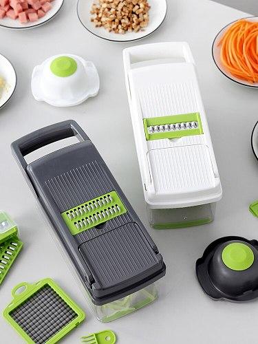Multi-Function Vegetable Chopper Kitchen Home Grater Potato Grater Silk Scraper