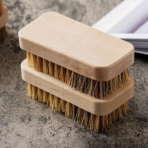Vegetable Scrubber Brush Wooden Kitchen Cleaning Brush Fruit Brush For Food Dish Multi-Functional Kitchen Cleaning Supplies