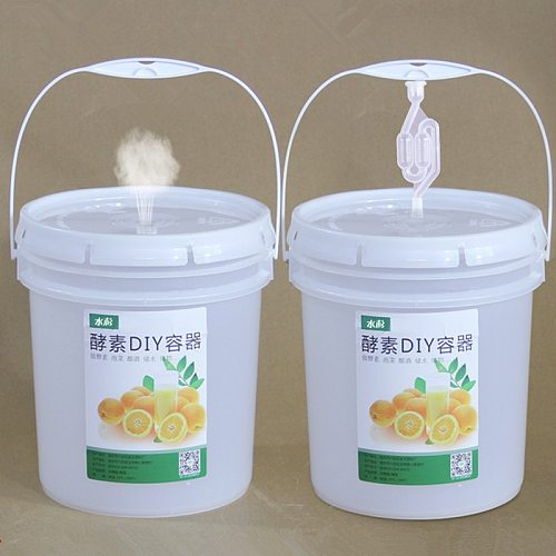 5L High Quality Plastic Bucket for Beer Wine Fermentation Food Grade Household Container 1PCS