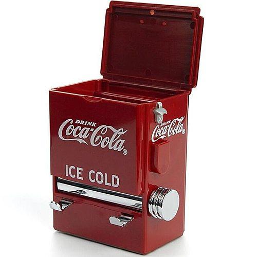 Personality Retro Toothpick Box Vending Machine Style Pressing Toothpick Case Dispenser Plastic Holder Ornament Decoration