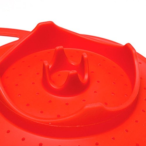 Expandable Durable Multifunction Kitchen Tool Food Silicone Dishwasher Safe Cooker Useful Heat-Resistant Steamer Basket Folding
