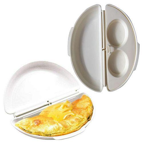 Microwave Omelet Maker Egg Omelette Maker Tray Egg Cooker Poacher Kitchen Mold