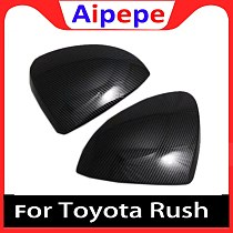 Car Accessories Door Side Mirror Cover Trim Rear View Cap Overlay Molding Garnish For Toyota RUSH (F800/F850) 2017 2018 2019