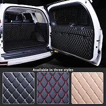 Cargo Rear Trunk Tailgate Tail Gate Door Mat Cover Floor Carpet Mud Pad Kick Tray For Toyota Land Cruiser Prado 150 2010 - 2018