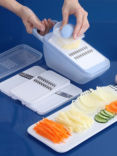 Household Multi-Function Vegetable Chopper Grater Slicer Shredding Machine Potato Shred Mill Kitchen Tool