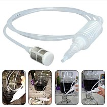 2m Wine Beer Making Tool Supplies Brewing Syphon Tube Food Grade Plastic Hose Filtering Bottling Home Bar Pipe New