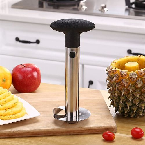 Fruit Pineapple Peeler Slicer Cutter Stainless Steel Kitchen Tools DIY